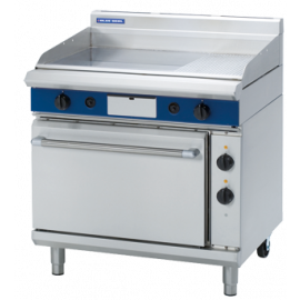 e1952bb383c Blue Seal Dedicated Gas Griddle Oven Range 900mm - Electric Static Oven  GPE506
