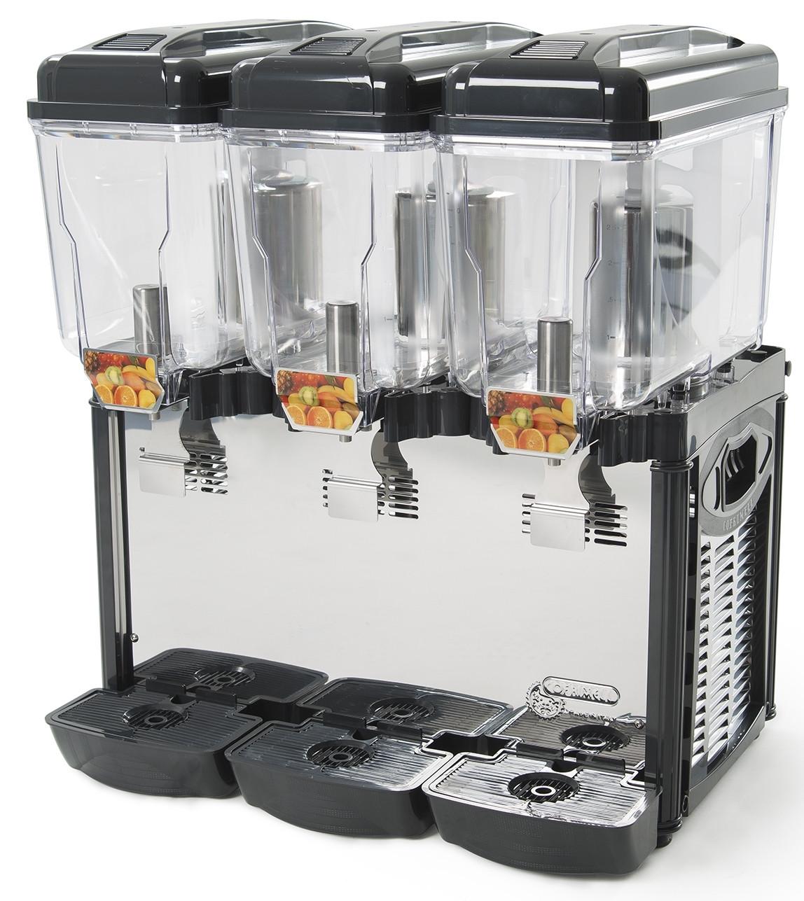Cofrimell Coldream Cold Drink Machine 3 X 12l Bowls Cf